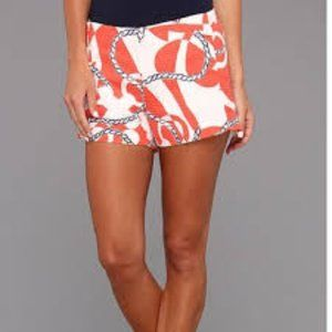 Lilly Pulitzer Tango Orange Booze Cruise Shorts